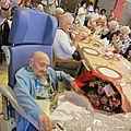 Hommage à notre centenaire madame francine buyst