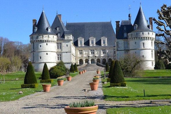Le-chateau-de-Mesnieres-en-Bray