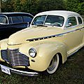 Chevrolet master deluxe coupe-1941