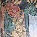 Détail, monastère orthodoxe de Bodani