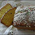 Cake au yaourt vanille