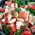Salade de mogettes pour le départ du tour de france en vendée!