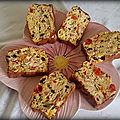 Cake au trio de poivrons