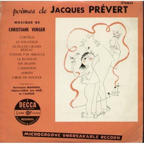 Montero-Germaine---Fabien-Loris---Leo-Noel---Jacques-Prevert-Poemes-De-Jacques-Prevert-25-Cm-33-Tours-772086710_L