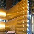 Le Bouddha couche au Wat Pho, Bangkok