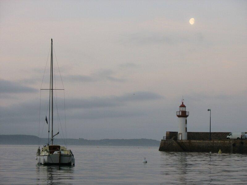 Erquy, le port au petit matin