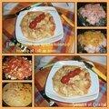 Filet de poulet aux épices colombo, tomates et sa sauce lait de coco ...