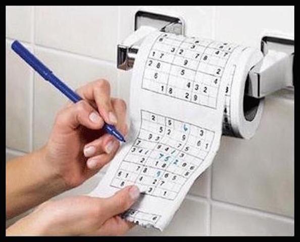 nodshop papier toilette sudoku 1