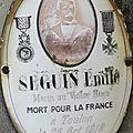 Seguin emile (malicornay) + 29/10/1918 toulon (83)