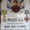 paquet eugène (rouvres-les-bois) + 14/09/1918 vauxaillon (02)