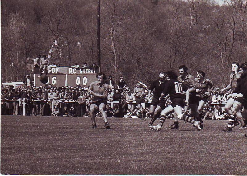 Saison 78 - 79, Ste-Foy / Guéret en 1/8 de Finale