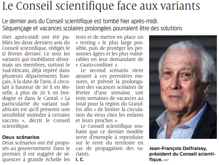 2021 02 25 SO Le conseil scientifique face aux variants