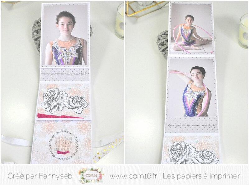 mini album fannyseb 2 collections ambre bertille papiers COM16 signature