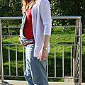 Un pour montrer mon look de grossesse #1