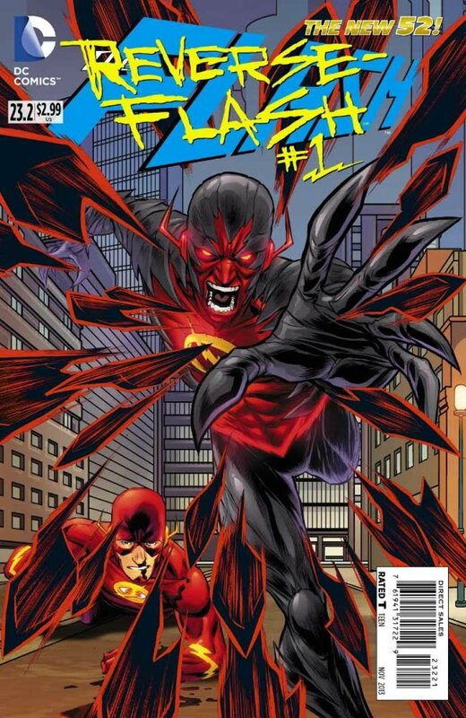 new 52 flash 23.2 reverse flash