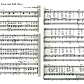 Rock and roll music (sheet music - partition)
