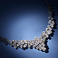A diamond necklace, oscar heyman, 1968