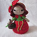 Test crochet - princess apple...
