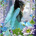 petit ange bleu