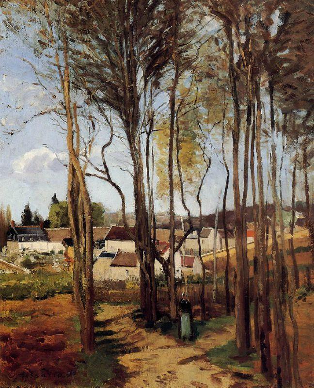Camille PISSARO 1868 LE MEILLEUR