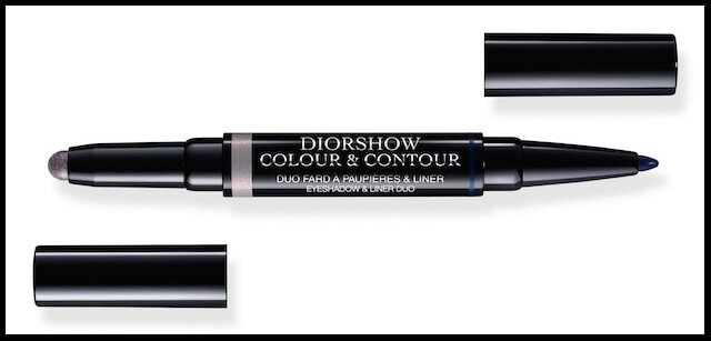 dior glowing gardens duo fard paupieres eye liner iris