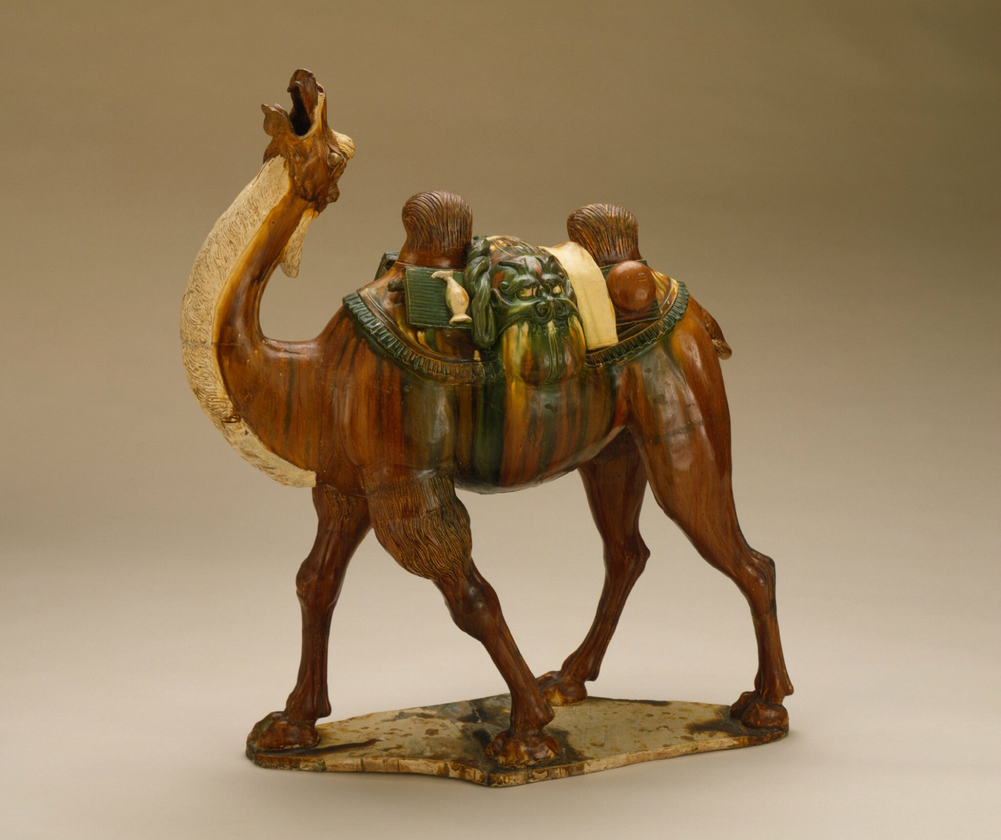 Funerary Sculpture of a Bactrian Camel, China, Chinese, middle Tang dynasty, about 700-800