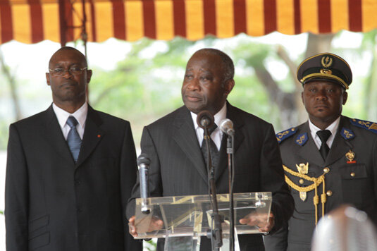 LAURENT GBAGBO :Il faut faire barrage aux masques de l'étranger.Ceux qui portent des visages d'Ivoiriens mais qui sont dirigés..