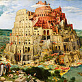 Tour de babel, nouvelle version