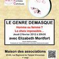 Conférence sur le gender à Vincennes