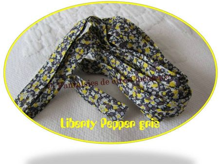 Liberty Pepper gris