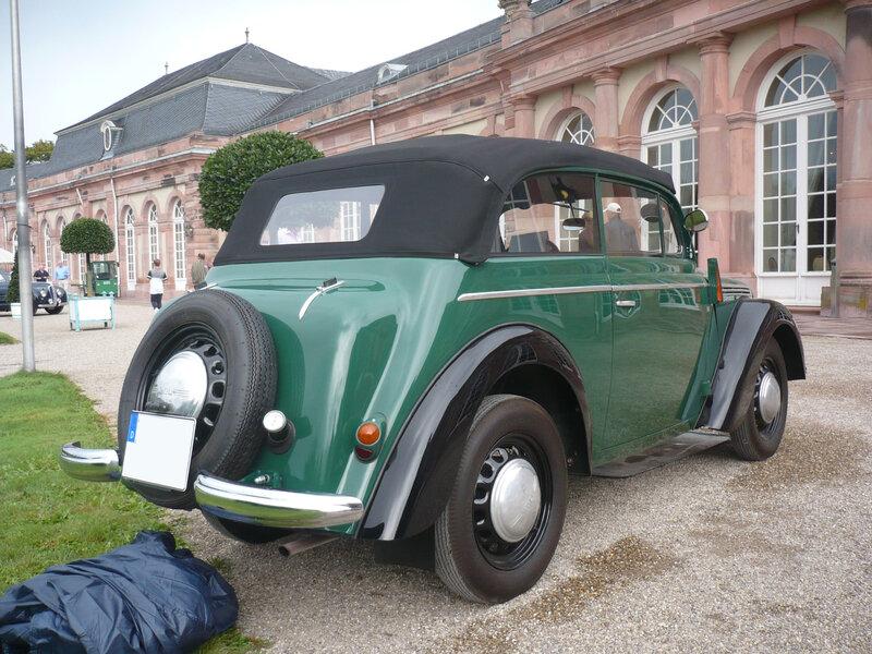 OPEL Kadett K38 Cabrio-Limousine 1937 Schwetzingen (2)