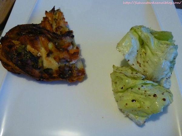 Tresse saumon, courgettes et gorgonzola (43)