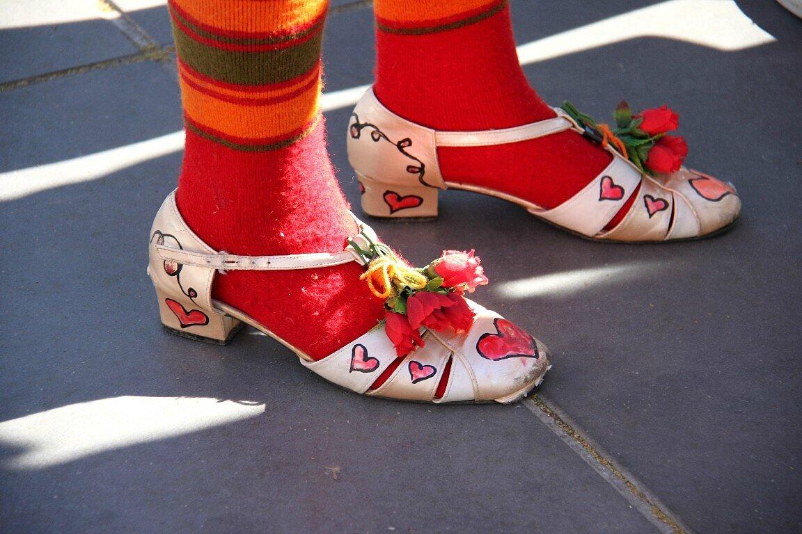 Chaussures, Coeurs (Clowns Z'hôpitaux)_4306