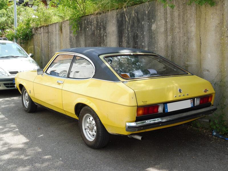FORD Capri II Ghia 2