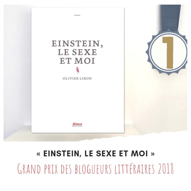 Olivier Liron lauréat du Grand prix des blogueurs littéraires 2018