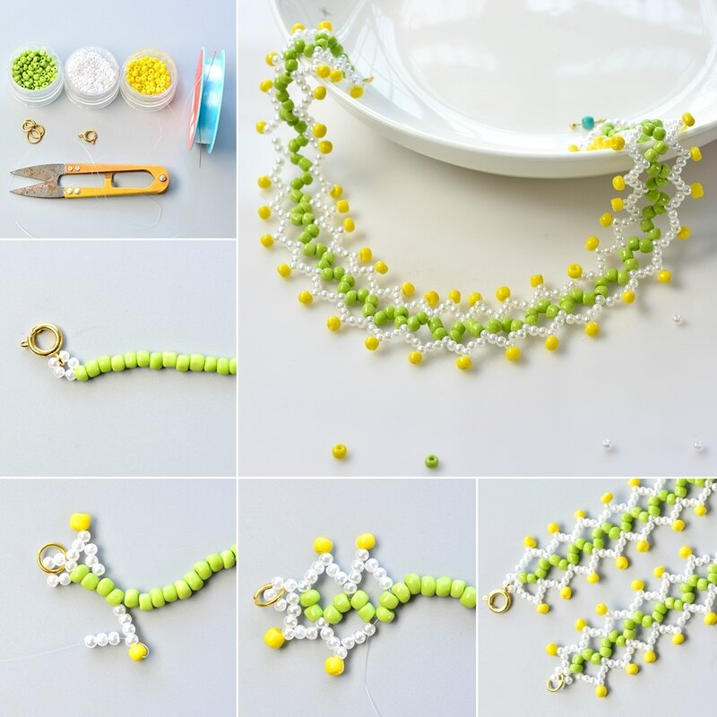 1080-PandaHall-Tutorial-on-How-to-Make-a-Chic-Seed-Bead-Choker-Necklace