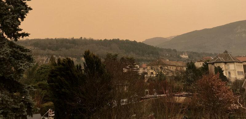 0 6 février coup de sirocco sur Artemare