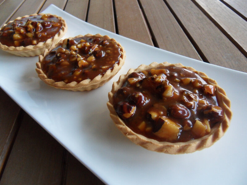 tarte caramel et noix du brésil 2