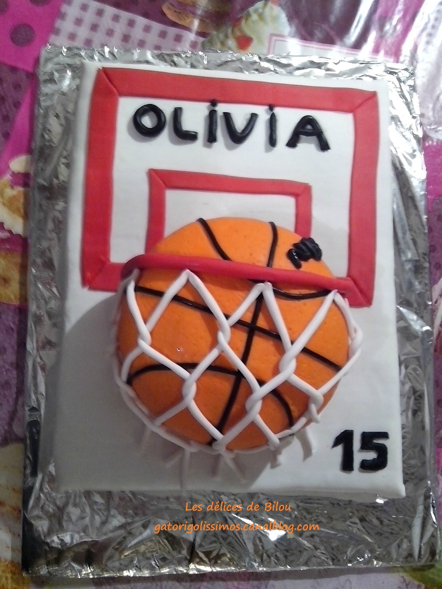 GATEAU BASKET BALL