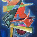 10 - Géométrie (à la manière de Vassily Kandinsky)