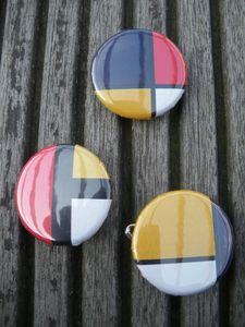 Badge Piet Mondrian