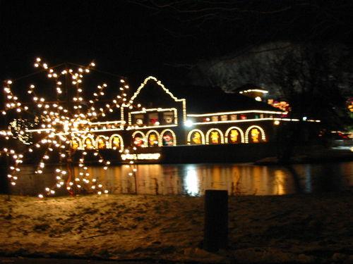 Washington Park - Christmas Lights - Albany - New York