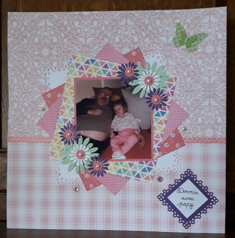 page scraplift avril 2018 magnolia
