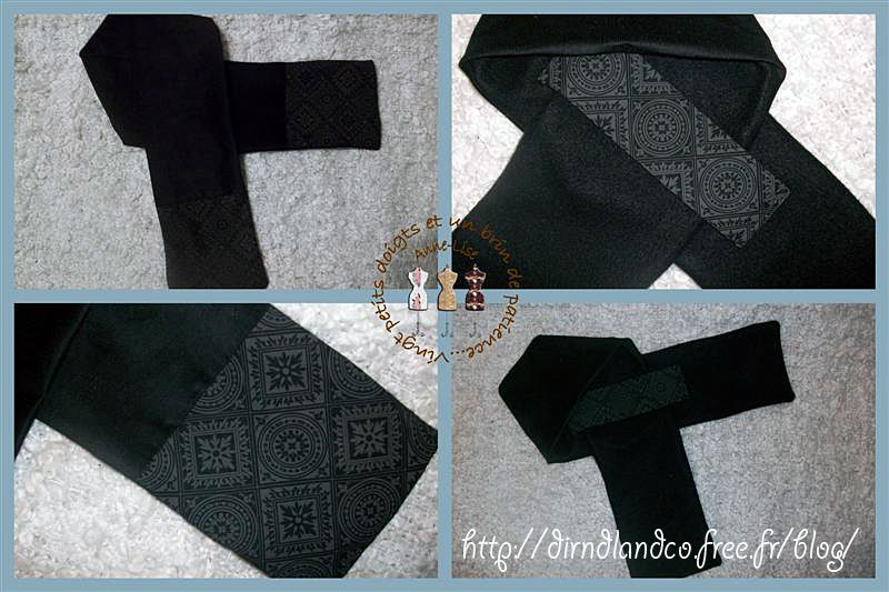 96- écharpe croisée d'Anne-Lise