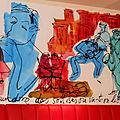 Londres Café Rouge
