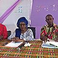 Cafop d'aboisso/administration/rencontre de madame le directeur avec les eleves-maitres de la 36e promotion 6/12/2017