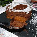 Mousse au chocolat saveur speculoos et tonka