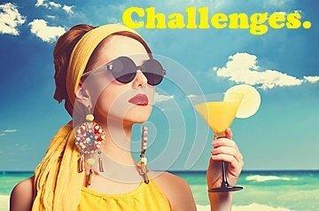women-cocktail-pretty-redhead-woman-beach-37676654