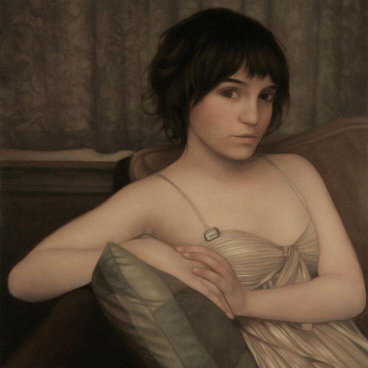 lu cong-portrait-art-portrait-paintings
