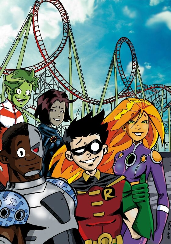 Teen Titans couleur copie